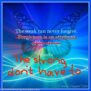 133.TheWeakCanNeverForgive