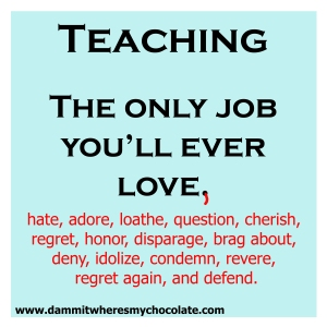 146.TeachingTheOnlyJob
